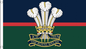 Royal Welsh Regiment Large Flag - 5' x 3'